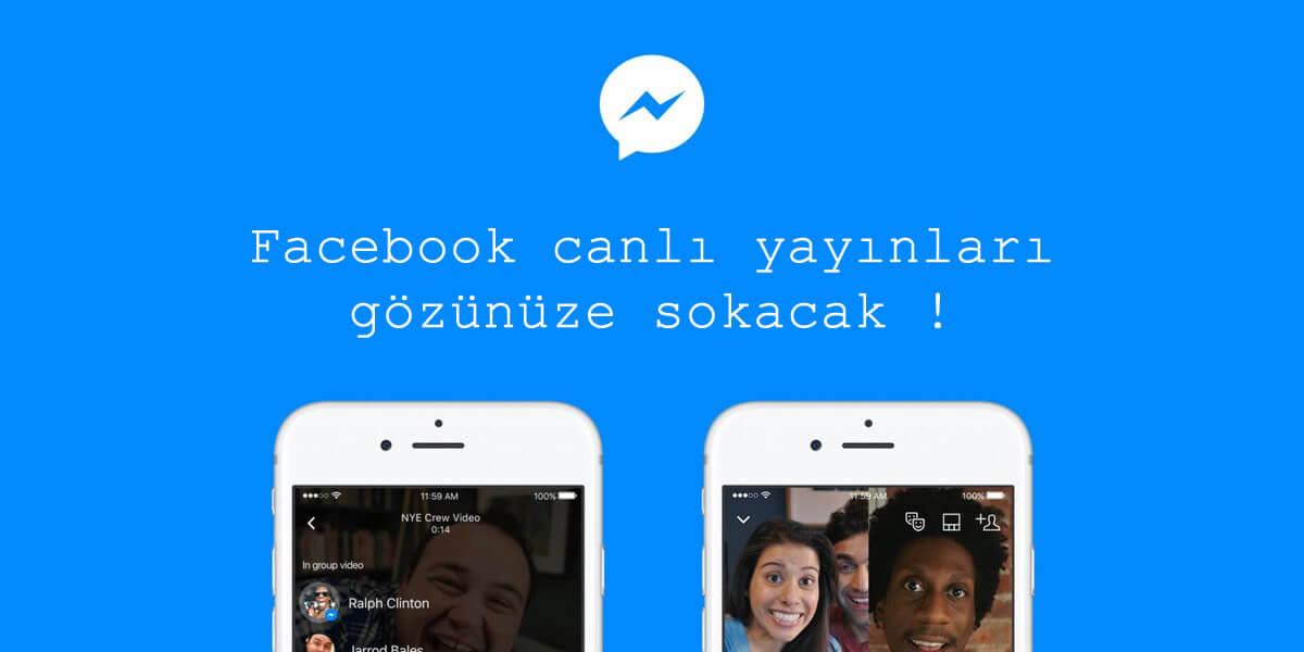 Facebook Sayfalarının canlı yayınlarını izlemek zorundasınız !