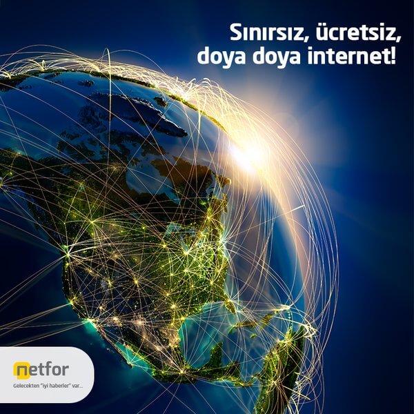 Netfor Bedava İnternet Hizmeti