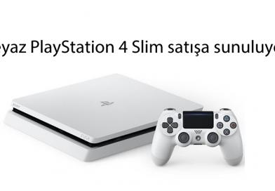 Beyaz PlayStation 4 Slim satışa sunuluyor!