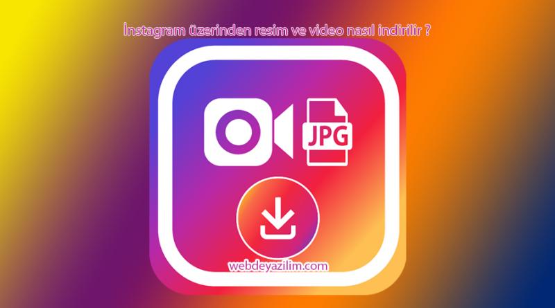 İnstagram video & resim indirme – kaydetme uygulaması