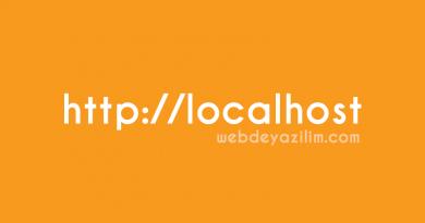 Sitelerinizi yerel sunucu (localhost) üzerinde çalıştırmanın yolları