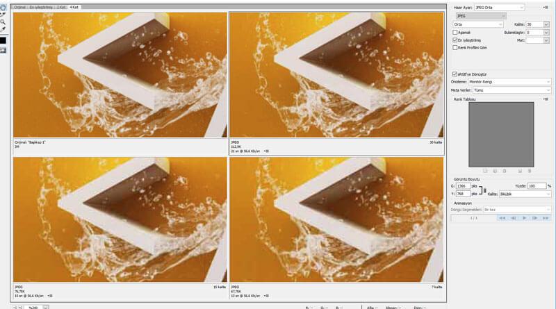 Photoshop ile resim optimizasyonu nasıl yapılır ?