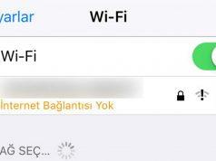 iphone wifi internet erişimi yok sorunu